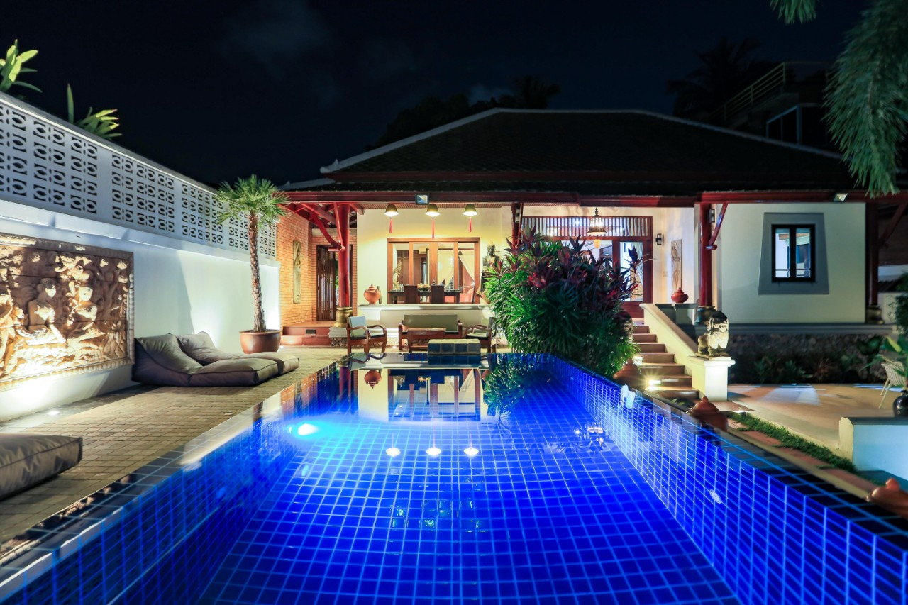 For rent beautiful villa with asian charm at koh samui