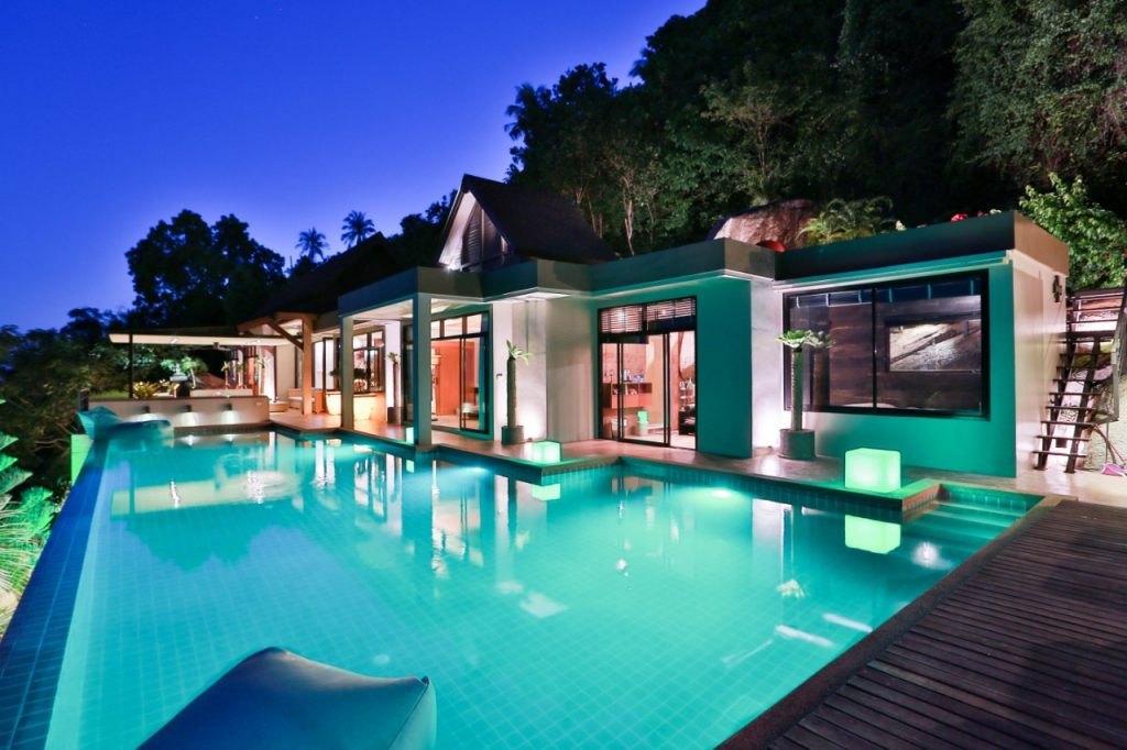 Conciergerie services koh samui Villa night Jasmin